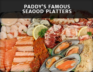 Paddy's Seafood Platters