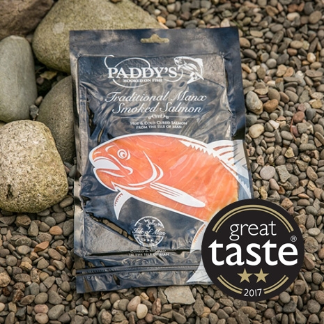 Paddy's 'Manx Smoked' 227g Sliced Cold Smoked Salmon