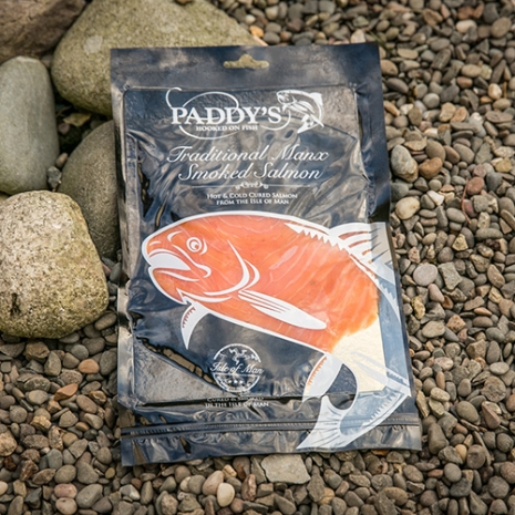 Paddy's Sliced Manx Smoked Salmon 113g