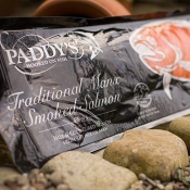Paddy's Sliced Manx Smoked Salmon 454g